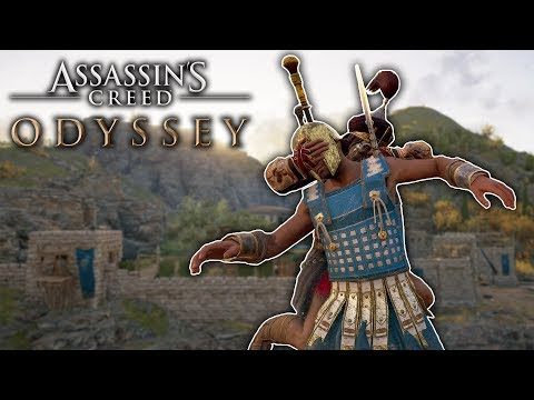 HOW DID I SURVIVE THIS WAR?!?!   Assassins Creed Odyssey Free Roam (#20)