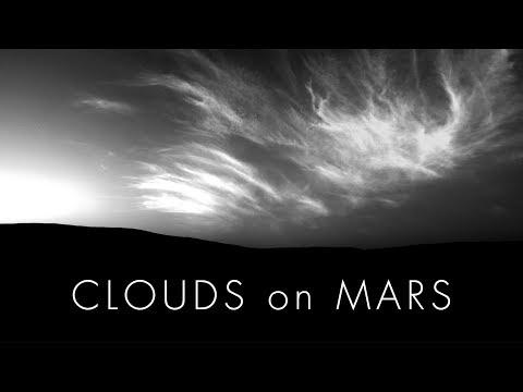 Clouds on Mars