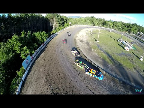 949 Productions: Limted Late Model  #5T Travis Smith 7/2/16 Heat Race