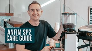 Anfim SP11 Coffee Grinder - Cleaning & Maintenance