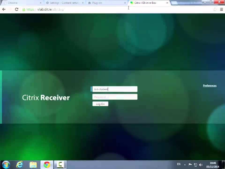 Citrix Chrome Fix