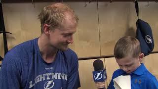 Junior Reporter - One on one with Anton Stralman - 20161017