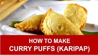 Curry puffs- How to make in three simple steps