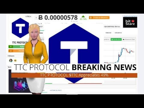 Cryptocurrency TTC PROTOCOL $TTC Surged 49% Over The Past 24 Hours