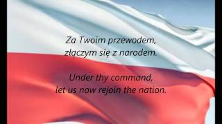 """Polish National Anthem - """"Jeszcze Polska Nie Zginęła"""" (PL/EN)"""