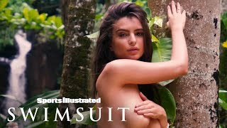 Emily Ratajkowski Shows Off Her Topless Dance Moves In Tropical Kauai | Sports Illustrated Swimsuit thumbnail