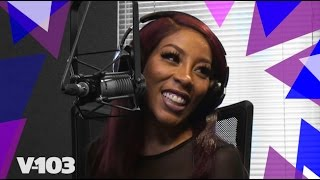 K. Michelle Visits Big Tigger & Keeps It All The Way REAL!
