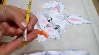 Pintura em Tecido – COELHA FIFI