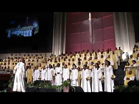 """All In His Hands"" Anthony Brown & FBCG Combined Choir (ANOINTED CHOIR)"