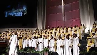 """All In His Hands"" FBCG Combined Choir w/ Praise Break (Amazing!)"