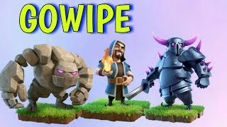 GoWiPe attack strategy for th8 and th9 !