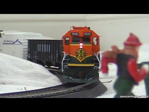HO SCALE TRAINS!