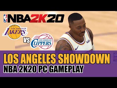 NBA 2K20 GAMEPLAY | LA LAKERS VS. LA CLIPPERS: WHO OWNS LA? | LA LAKERS WITH DWIGHT HOWARD
