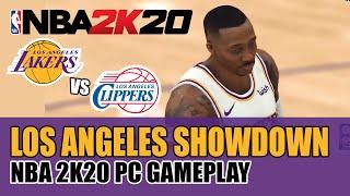 NBA 2K20 GAMEPLAY   LA LAKERS VS. LA CLIPPERS: WHO OWNS LA?   LA LAKERS WITH DWIGHT HOWARD