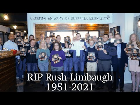 REST IN PEACE RUSH: Limbaugh Discusses Cowardice On The Right With James O'Keefe