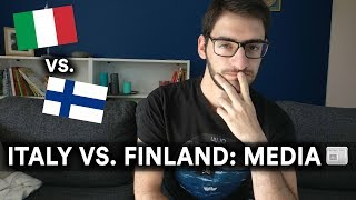 ITALY VS  FINLAND: MEDIA - Timppa Talks