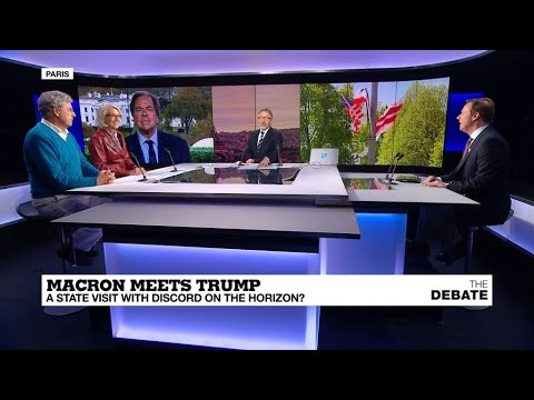 Macron meets Trump: A state visit with discord on the horizon?