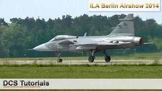 ILA Berlin Airshow 2014 ★ Saab JAS-39 Gripen Display