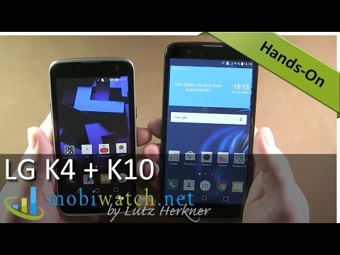 LG K10 and K4 Video Review: All Info + First Test Results