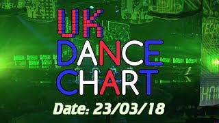 UK TOP 40 DANCE SINGLES CHART ALBUM CHART 23 03 2018