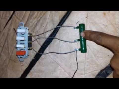 Table fan regulator connection - YouTubeYouTube