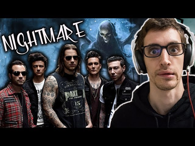 Hip-Hop Head's FIRST TIME Hearing AVENGED SEVENFOLD: Nightmare REACTION
