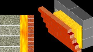 Смотреть видео стена кирпич потолок пустотка сыреет