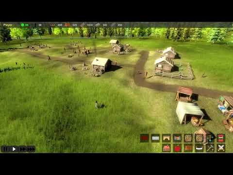 Lords & Peasants - Early Tier Gameplay
