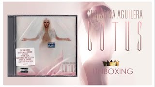 Christina Aguilera - LOTUS Unboxing