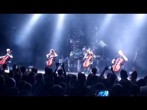 Nothing else matters - Apocalyptica live in Athens 31/10/2019