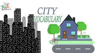 Vocabulary Practice|Vocabulary City| English Words | Toddler Learning