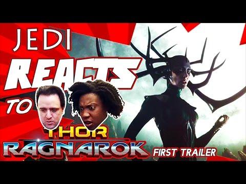 "JEDI REACTS!: ""Thor: Ragnarok"" Official Trailer #1 🔨"