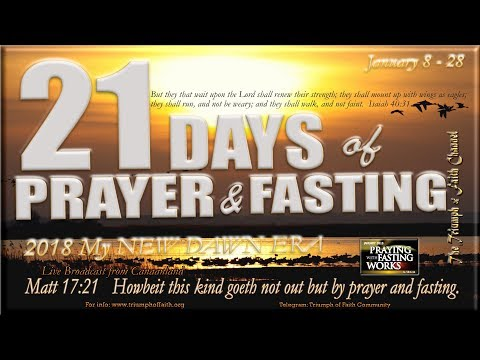 21 days prayer and fasting programme