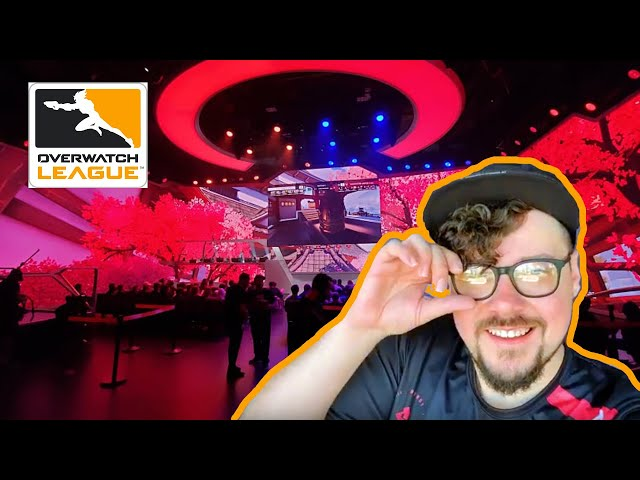 Mikey checks out Overwatch League at Blizzard Arena