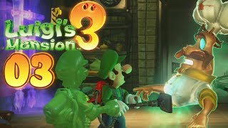 Luigi's Mansion 3 - Walkthrough #03 - The Next Floor!