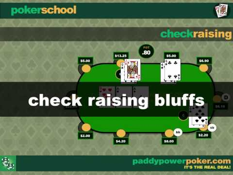 What is a check raise in poker?