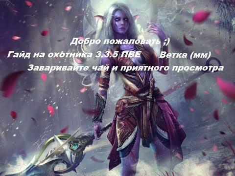 Быстрый гайд на охотника(мм) 3.3.5а 2019!