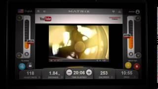 видео Беговая дорожка MATRIX T7XE VA (2013)