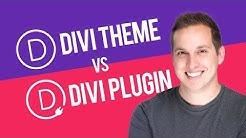 Divi Theme vs Divi Builder Plugin Explained