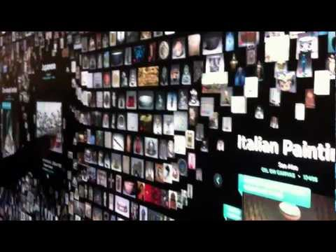 1/21/13 Cleveland Museum of Art Gallery One Opening - Collection Wall