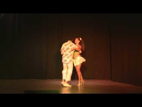 Cours de danse brésilienne  à Marseille professeur Edna Costa. Forro improvisation avec David