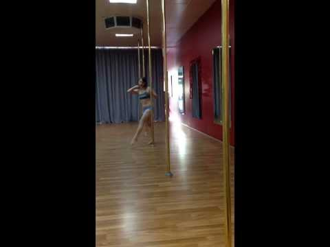 Pole Routine 1 - Just One Yesterday (Fall Out Boy)