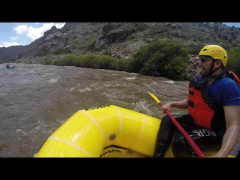 Colorado White Water Rafting June 2017 - Arkansas River  Three Rocks