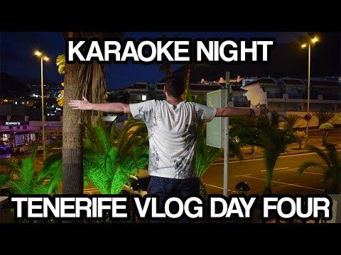 Tenerife Vlog Day 4 - Karaoke Night!