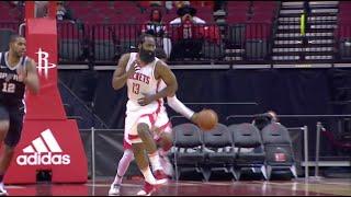Houston Rockets Announcer Takes Random Shot At James Harden During Game