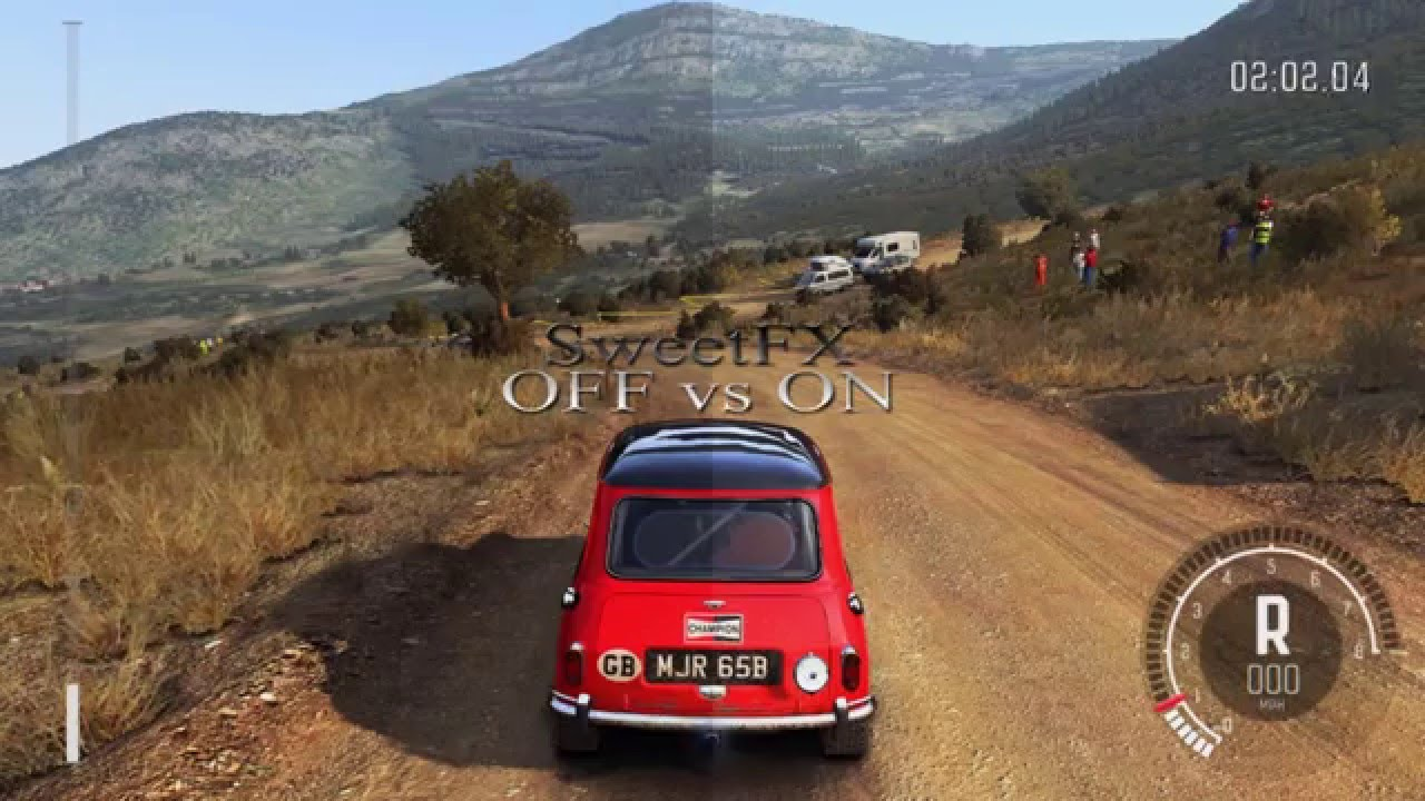 dirt rally sweetfx mod gameplay pc graphics mod. Black Bedroom Furniture Sets. Home Design Ideas