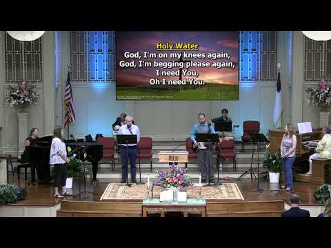 """""""Holy Water"""" Recorded at First Baptist Thomson, Copyright License 1389779"""