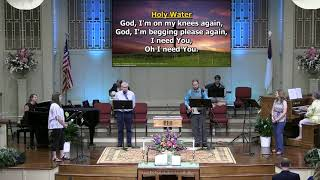 """Holy Water"" Recorded at First Baptist Thomson, Copyright License 1389779"
