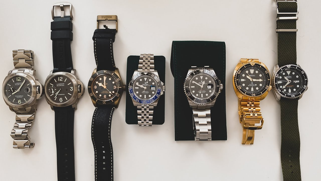 My Watch Collection and talking Porsche