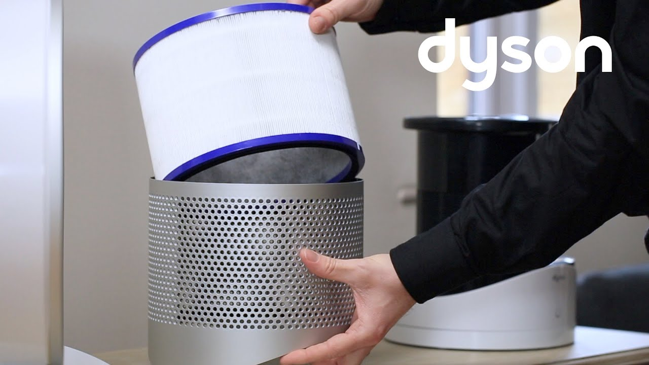 Dyson Pure Cool Link Desk Purifier Fan Replacing The Filter Au You